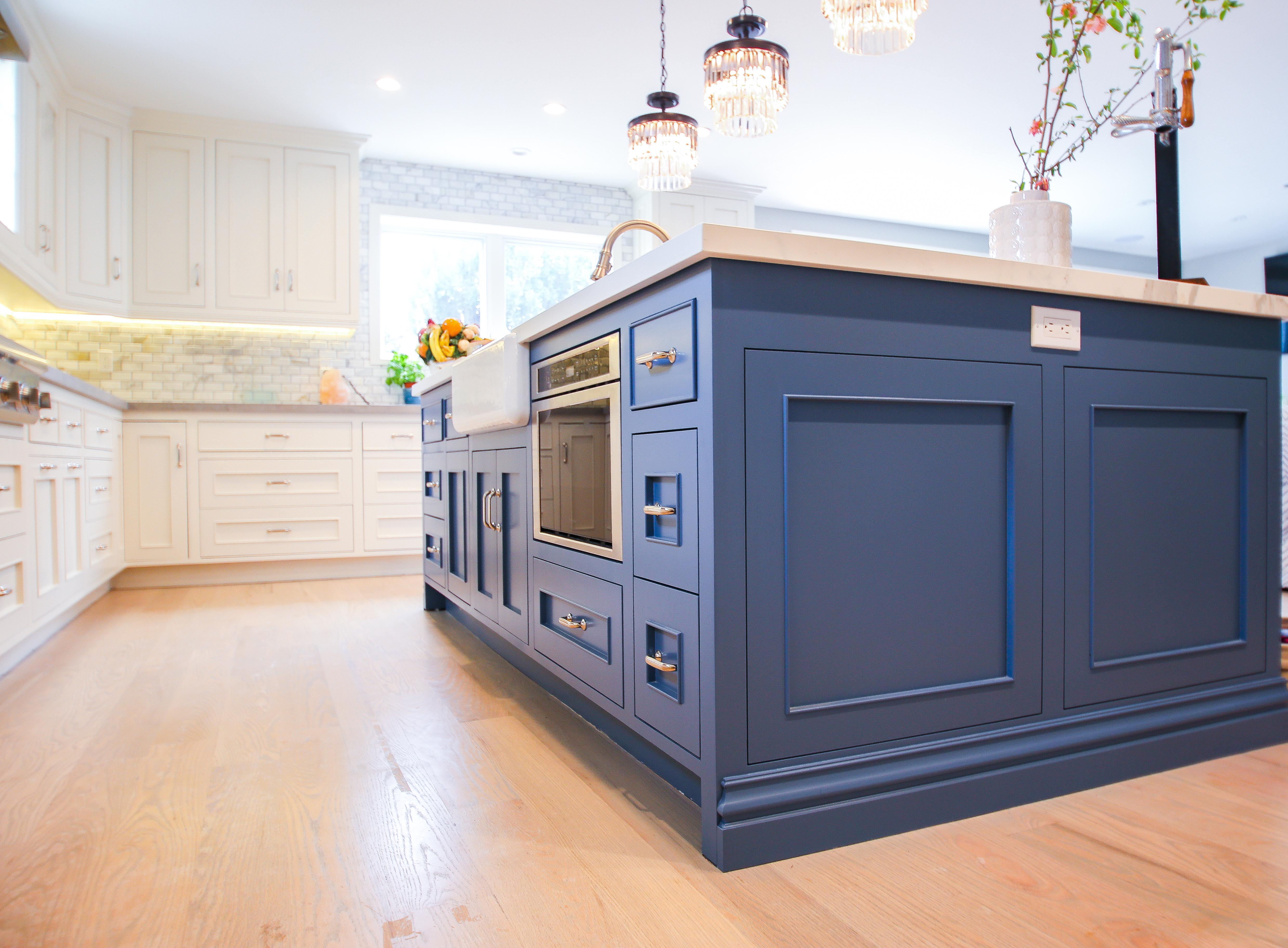 18th St. Manhattan Beach Kitchen Refinishing