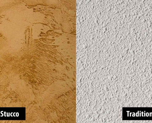 Synthetic Versus Traditional Stucco
